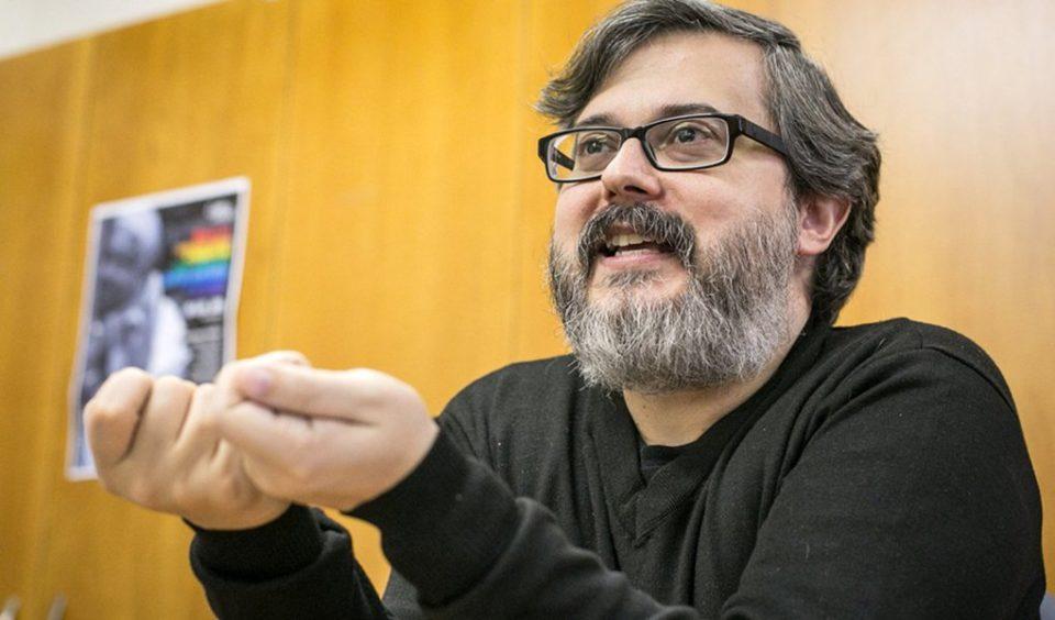 Éder Silveira nos 25 anos da Livraria Bamboletras