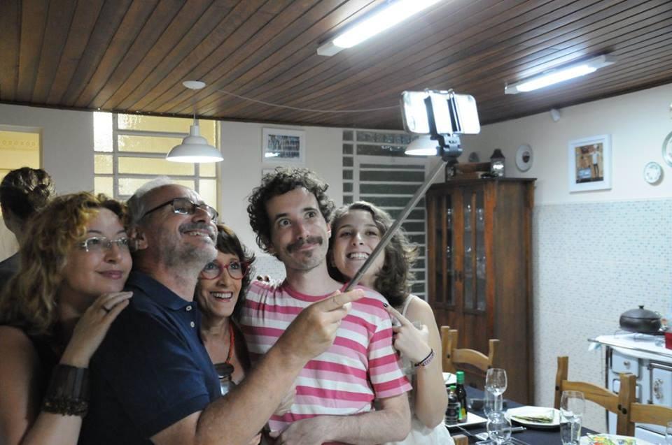 O making of de uma foto familiar