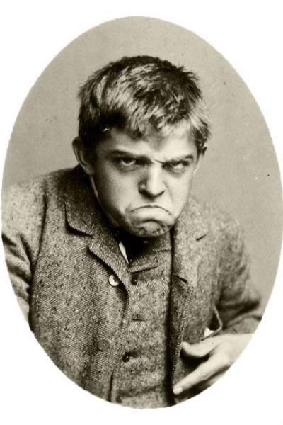 Uma sessão de fotos de Carl Nielsen