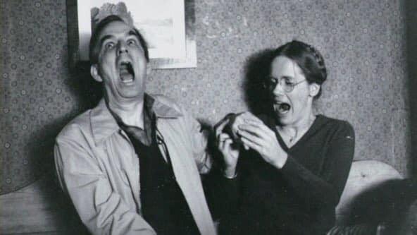 Ingmar Bergman & Liv Ullmann