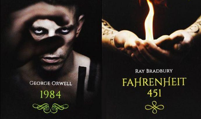 1984 x Fahrenheit 451, uma breve comparação