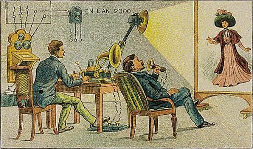 Em 1910, o ano 2000 seria assim…