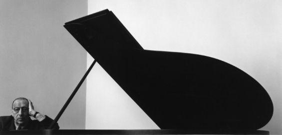 Igor Stravinsky (1882-1971) em 1946 | Foto: Arnold Newman