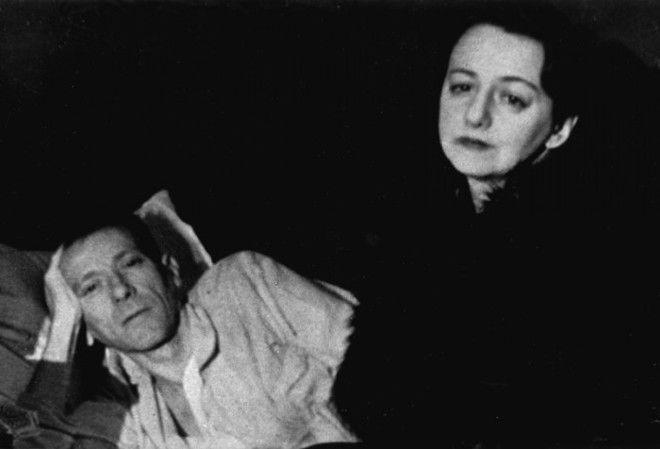 Uma das últimas fotos. Mikhail Bulgákov, com sua esposa Elena Shilovskaya