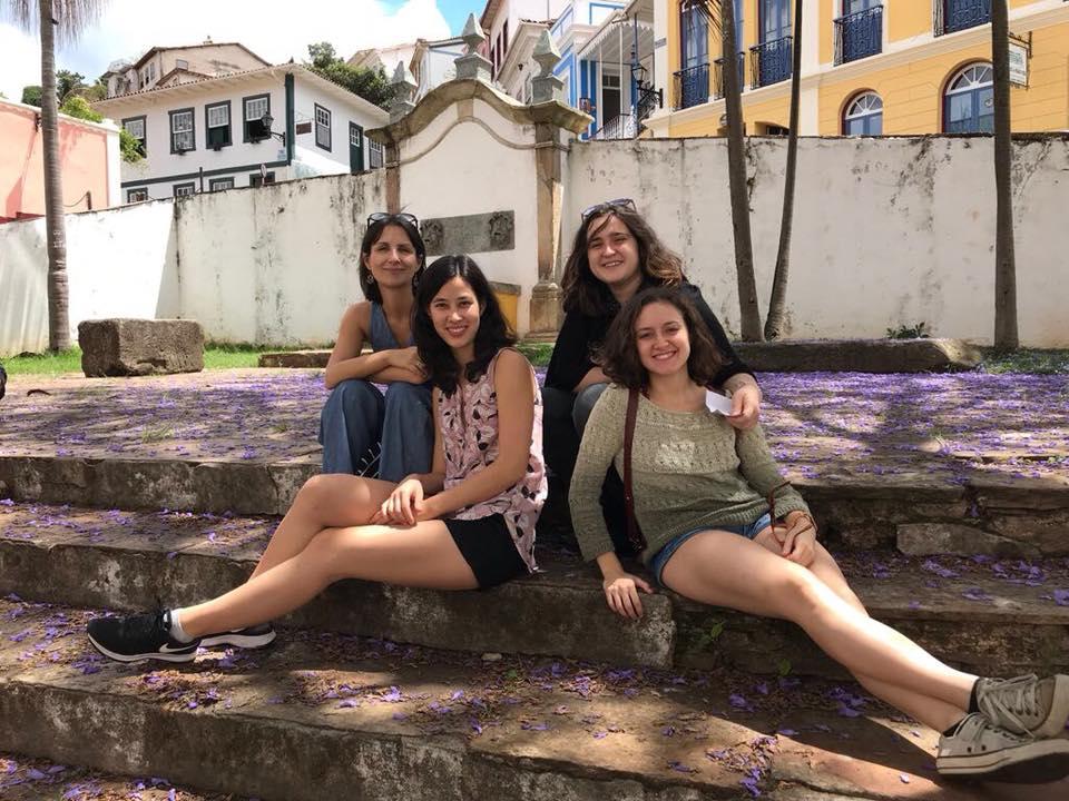 O Constanze em Ouro Preto, dias antes de chegar a Porto Alegre | Foto: perfil do Facebook do grupo