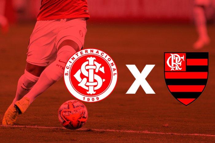 Inter e Flamengo tem os mesmos jogos até o final do Brasileiro 2020