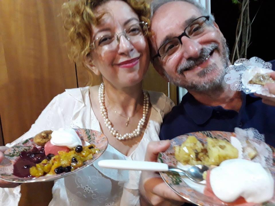 Festa: a gente gosta. Elena Romanov e Milton Ribeiro | Foto: Ricardo Branco