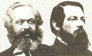 Marx e Engels: dois dos maiores admiradores do escritor