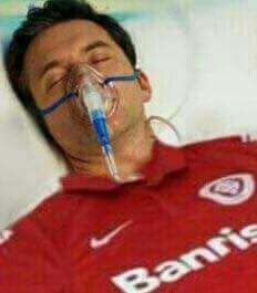 Inter mexeu um minguinho, mas permanece em coma