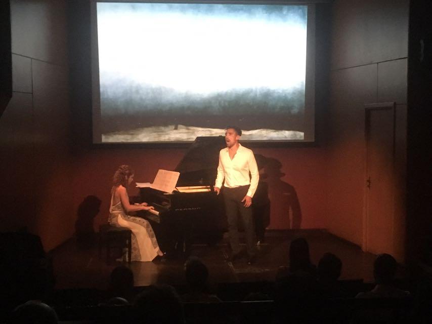 O recital de Homero Velho e Liliana Michelsen no StudioClio