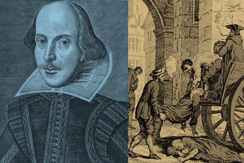 Como Shakespeare utilizou sua quarentena…