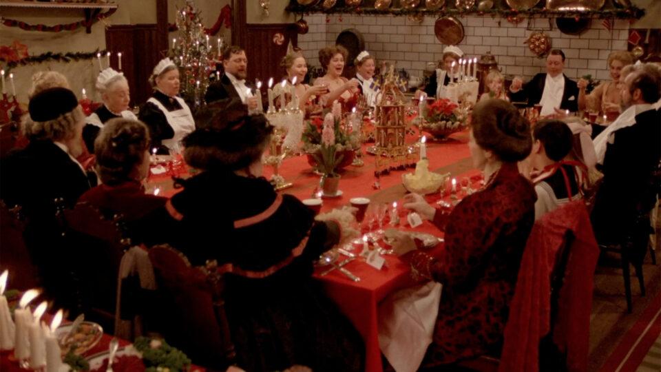 A cena do jantar de Fanny e Alexander