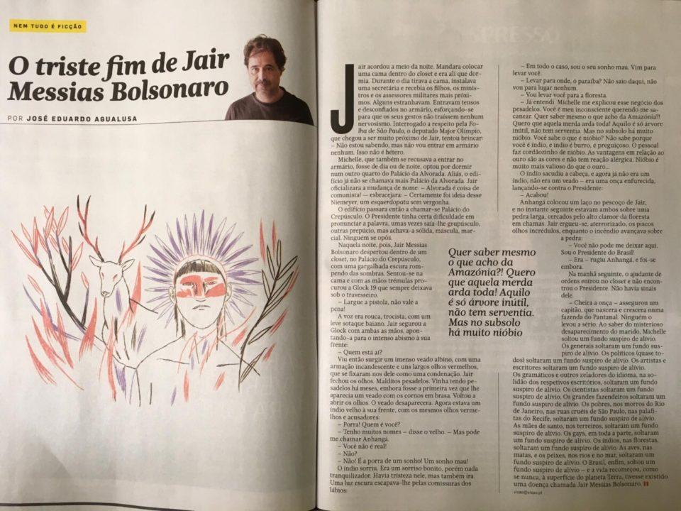O Triste Fim de Jair Messias Bolsonaro, por José Eduardo Agualusa