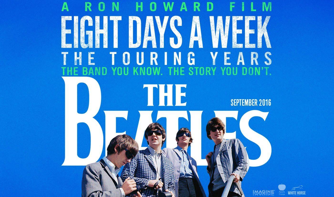 Algumas observações sobre The Beatles: Eight Days A Week – The Touring Years, de Ron Howard