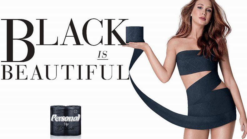 Uma perguntinha sobre o papel higiênico Black is Beautiful