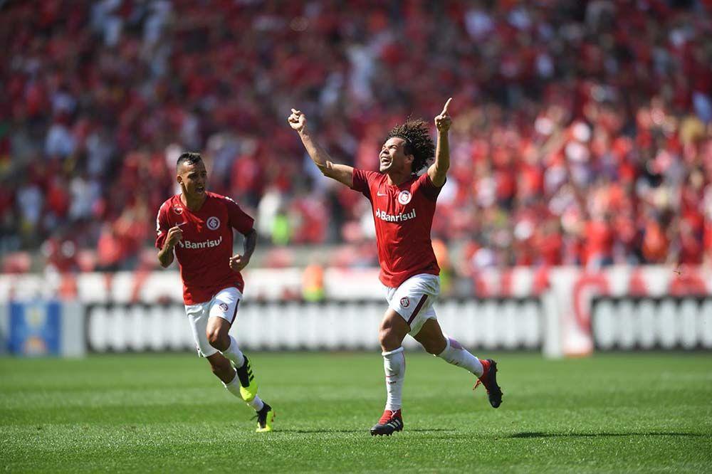 O gol de Camilo, que deu o segundo lugar ao Inter | Foto: Ricardo Duarte / SC Internacional