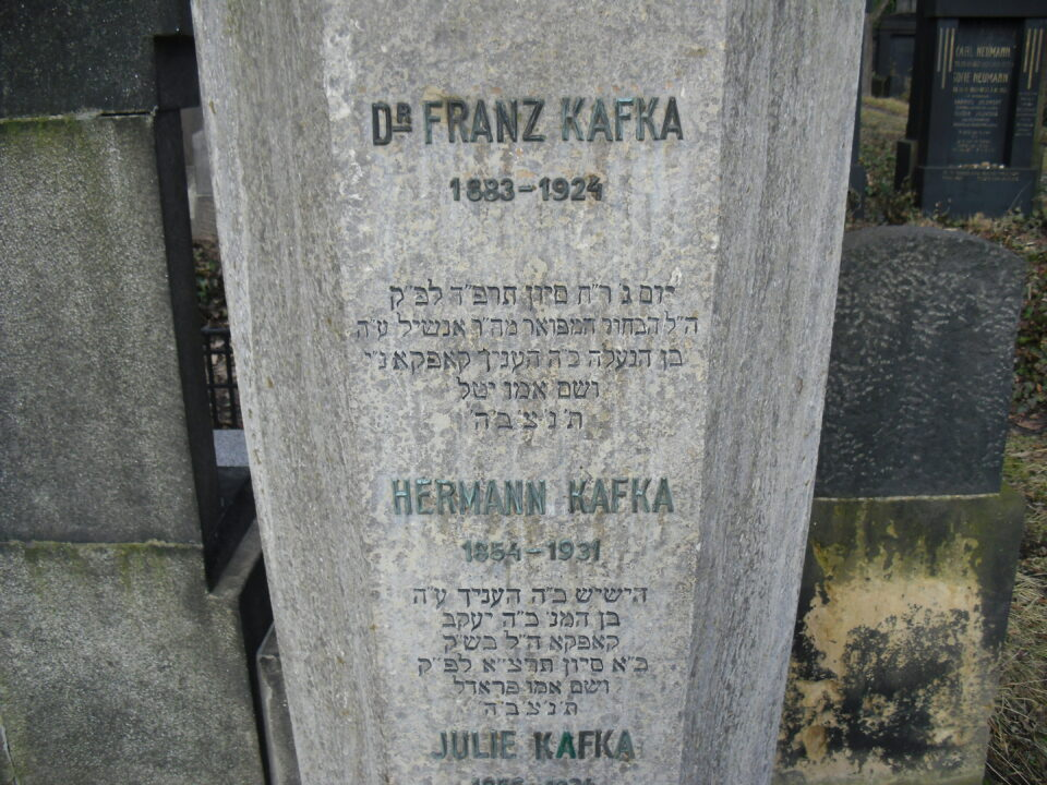 Visita ao túmulo de Kafka
