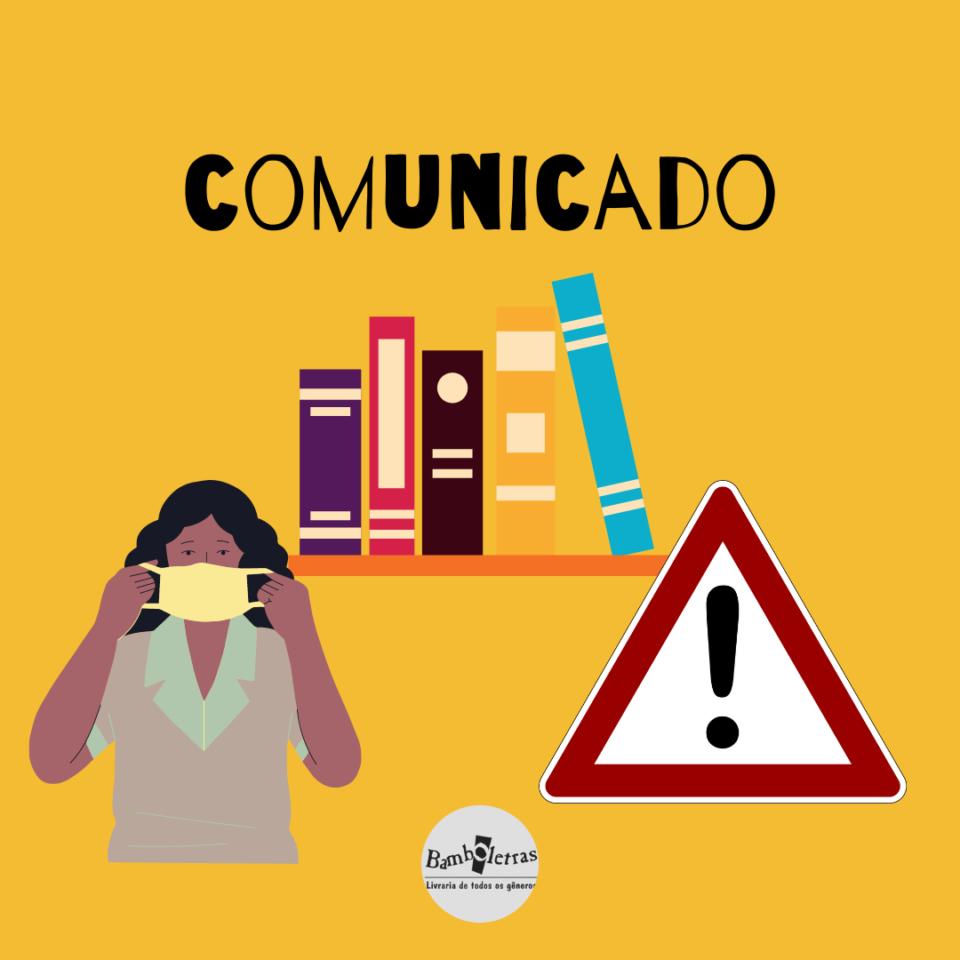 ֎ COMUNICADO DA LIVRARIA BAMBOLETRAS ֎
