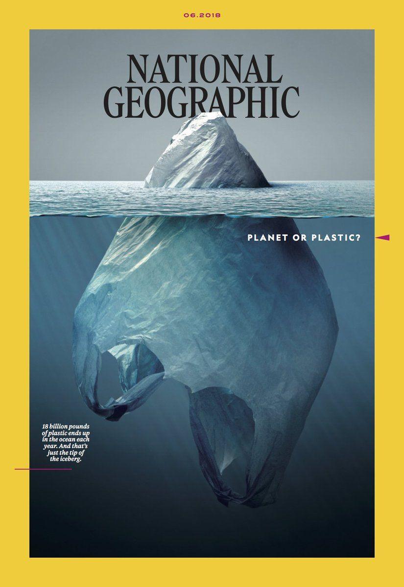 A mais bela e estarrecedora capa de revista (Planeta ou Plástico?)