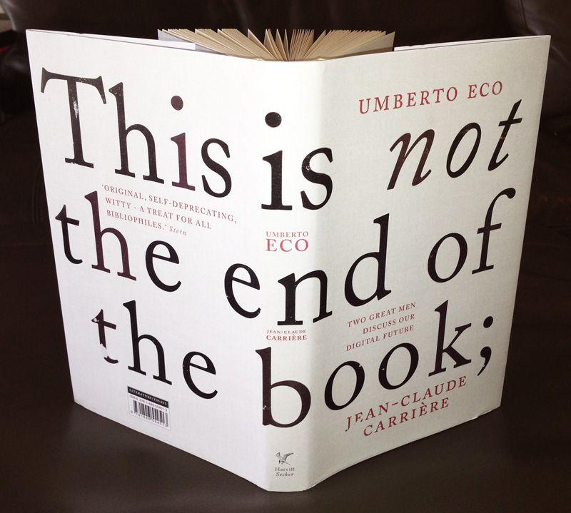 Não contem com o fim do livro, de Umberto Eco e Jean-Claude Carrière