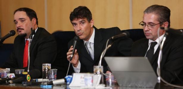 Os Três Patetas: Cassio Conserino, José Carlos Blat e Fernando Henrique Araújo