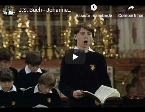 Da Paixão segundo São João, de Bach: Es ist vollbracht, ária para contralto