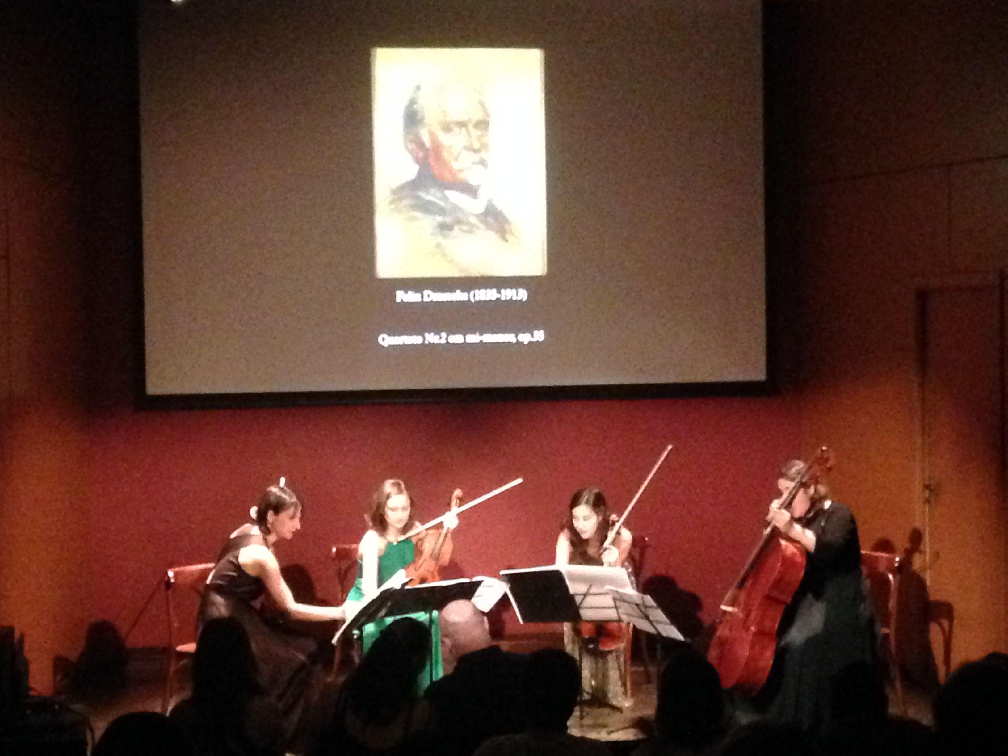 O Constanze Quartet trouxe Mozart e Draeseke para invadir o quartel do StudioClio