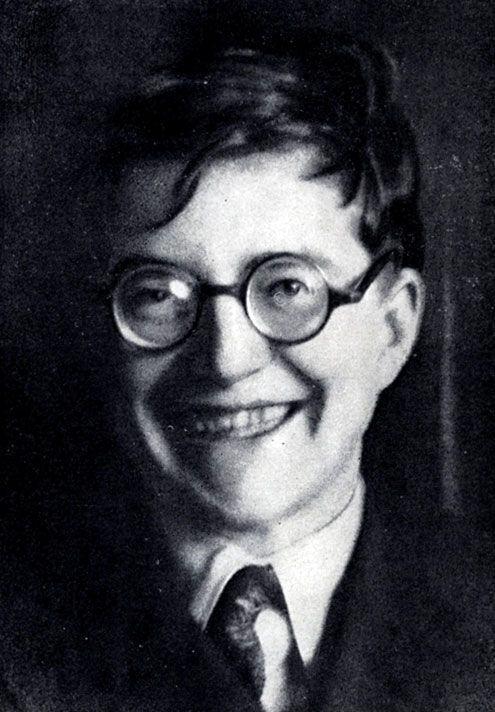 Fotos inusitadas de Dmitri Shostakovich, inclusive com поросёнок