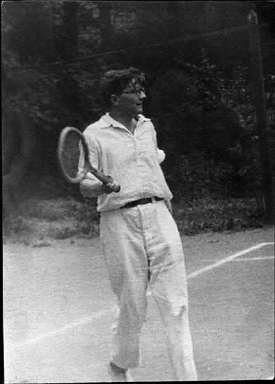 Jogando tênis!