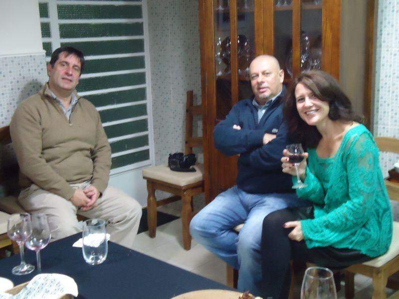 Conheci Ricardo Branco em 1976, o Dario em 1984 e a Cláudia Guglieri ali por 2008 (?)