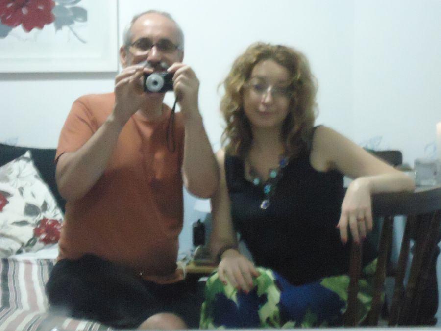Dentro do quarto cinza (a Elena gosta de fotos fora de foco...)