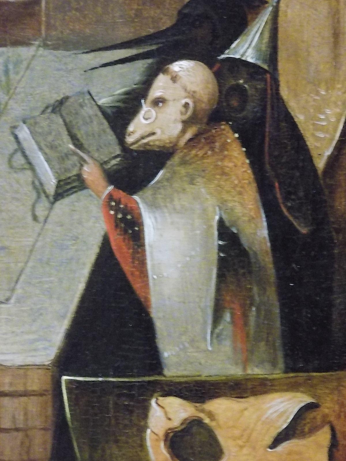 Detalhe de 'O Juízo Final', de Hieronymus Bosch