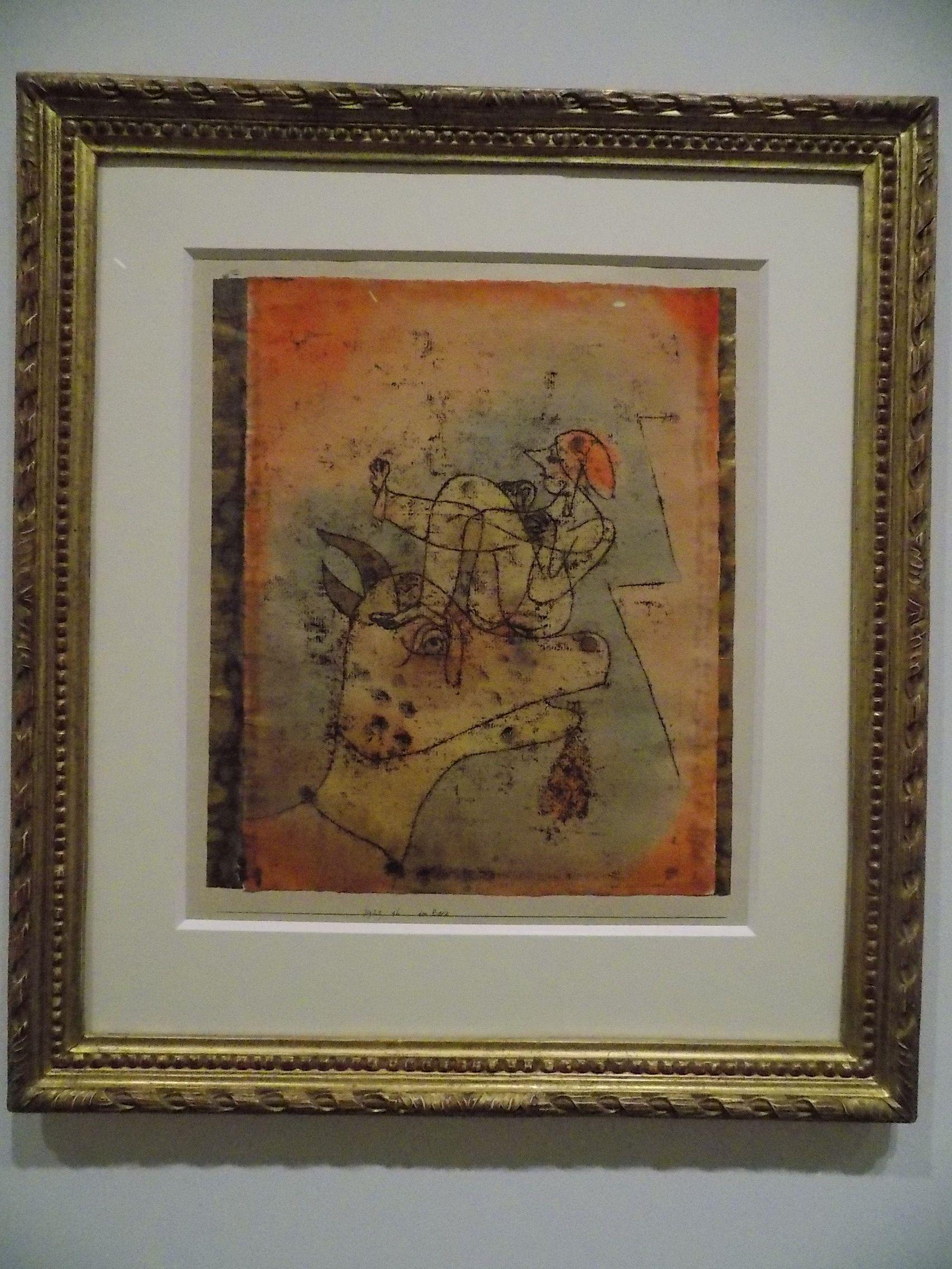 Paul Klee: não lembro o título...
