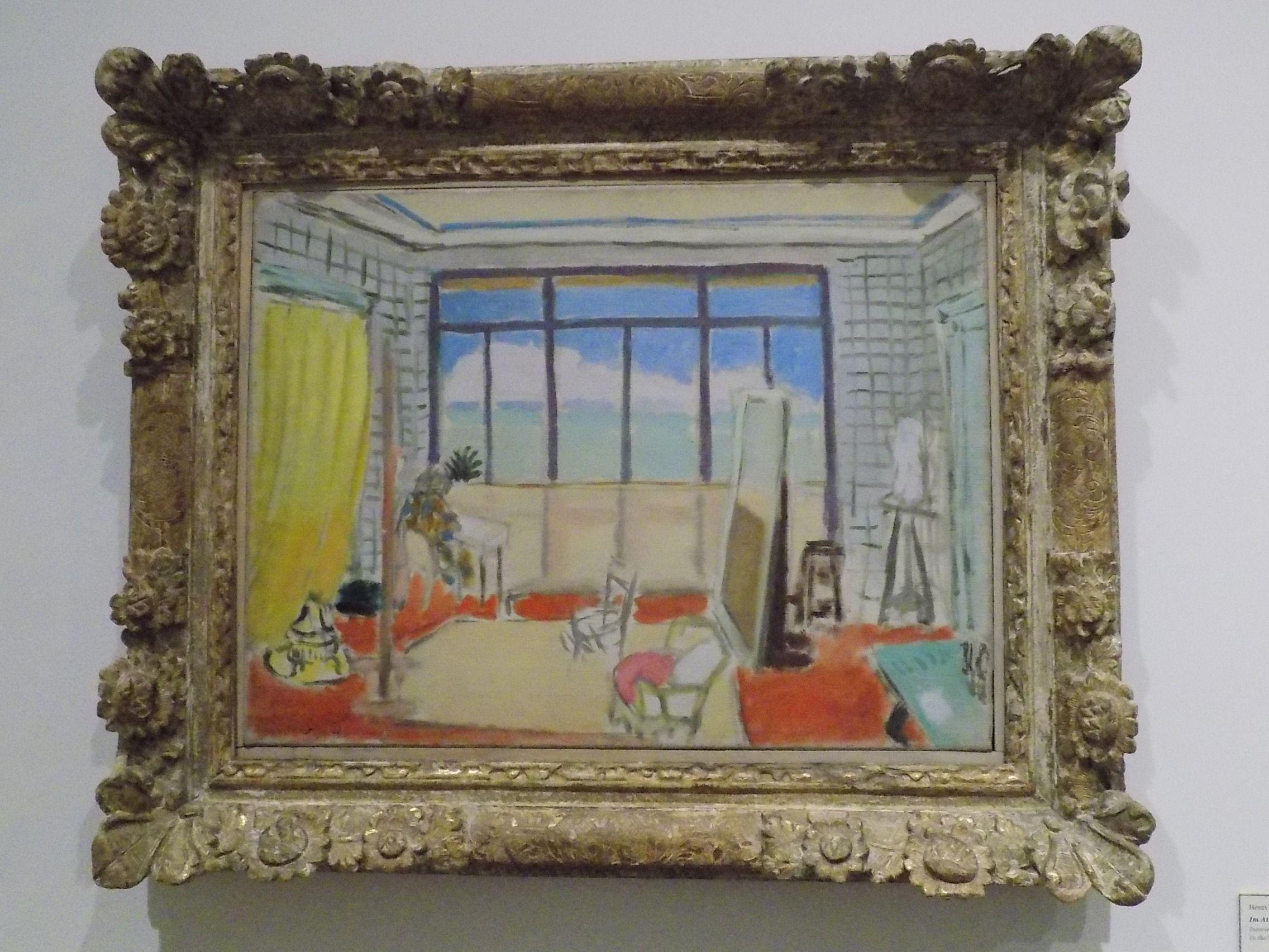 Matisse: No Atelier em Nice