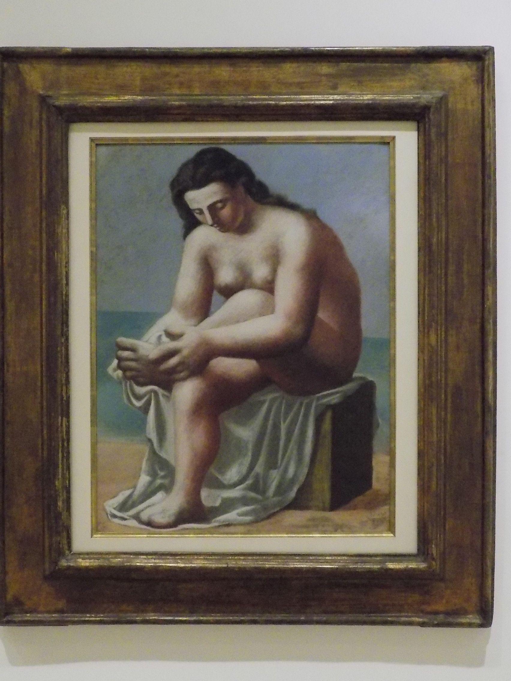 Picasso: Nu sentado, secando os pés