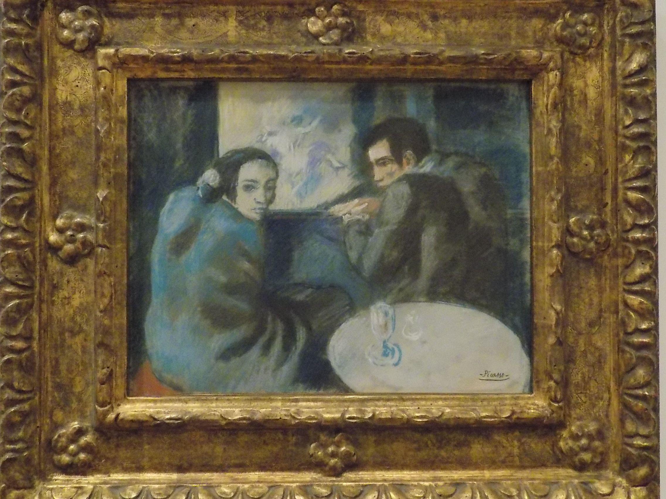 Picasso: No Café