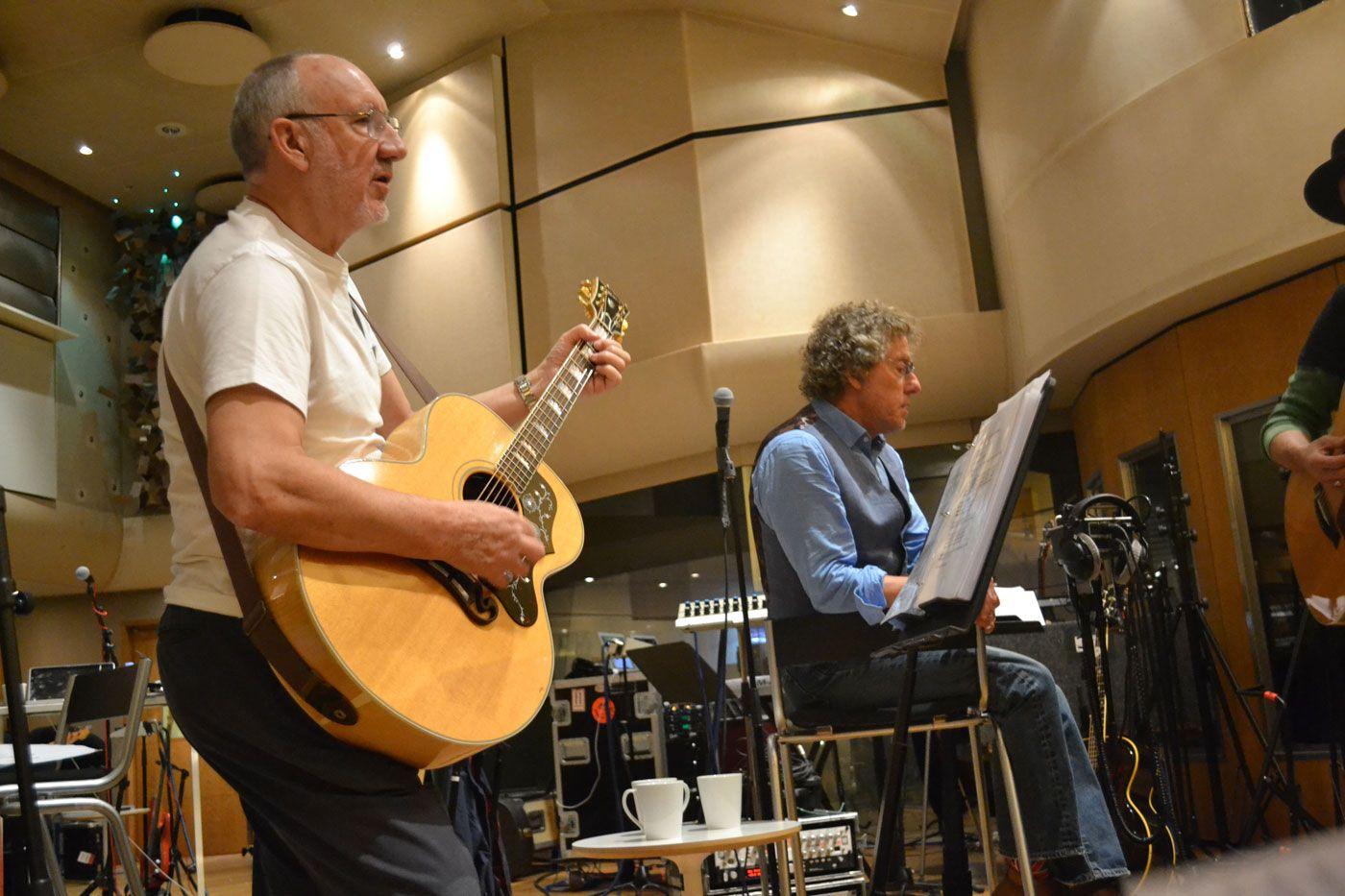 The Who hoje: só Townshend e Daltrey. Moon e Entwhistle já faleceram.