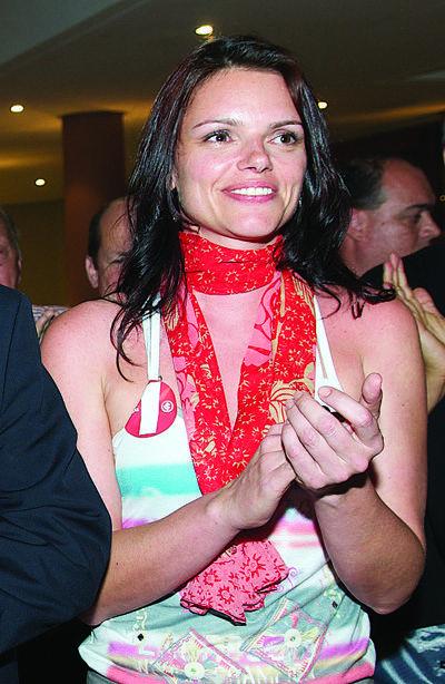 Diana Oliveira, a musa do cimento