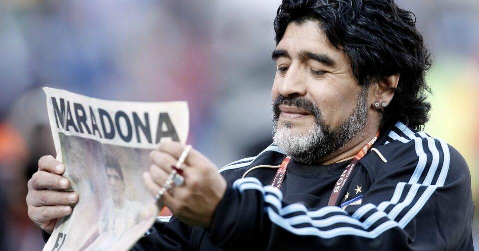 Morreu Diego Maradona (1960-2020)