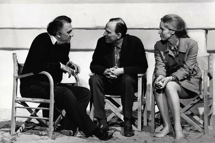 Fellini, Bergman, Ullmann