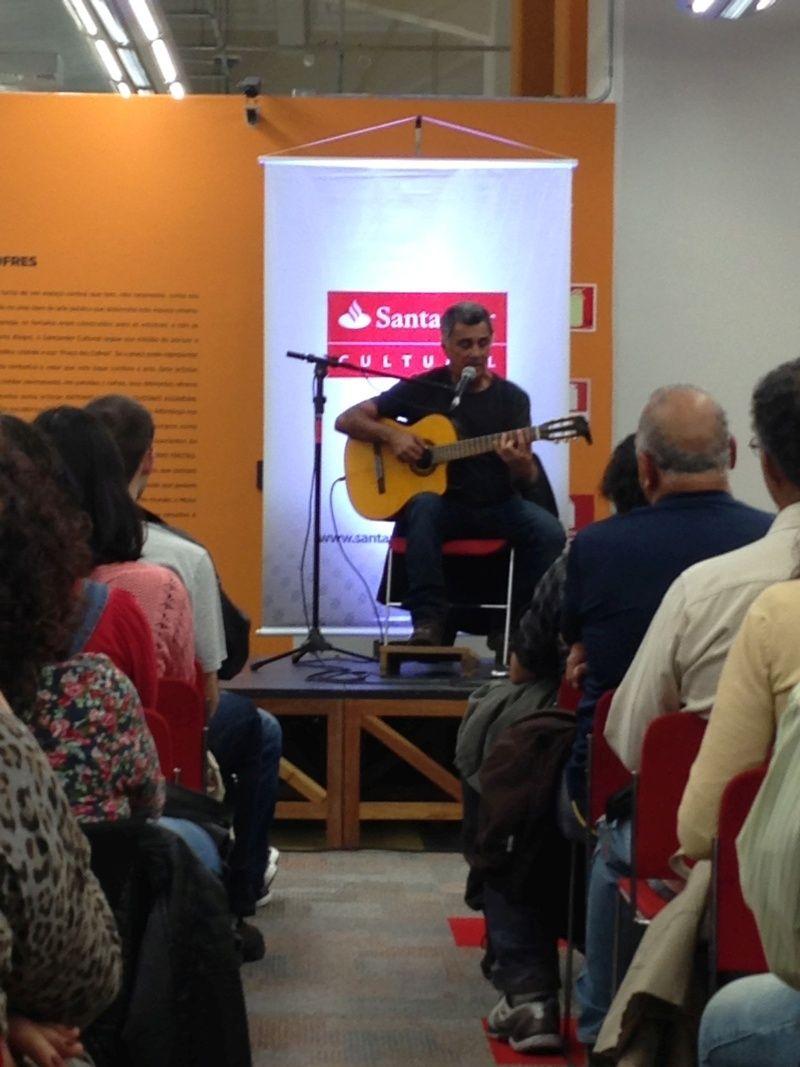 Hoje teve Guinga no Santander Cultural