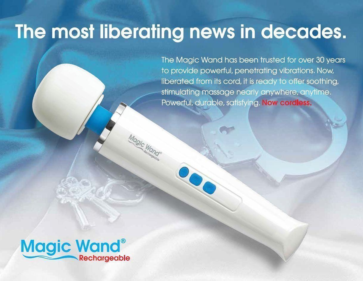 Hitachi Cordless Magic Wand