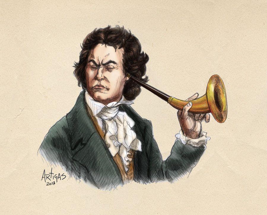 Arte de Sergio Artigas (http://artigas.deviantart.com/art/Ludwig-van-Beethoven-07-152989423)