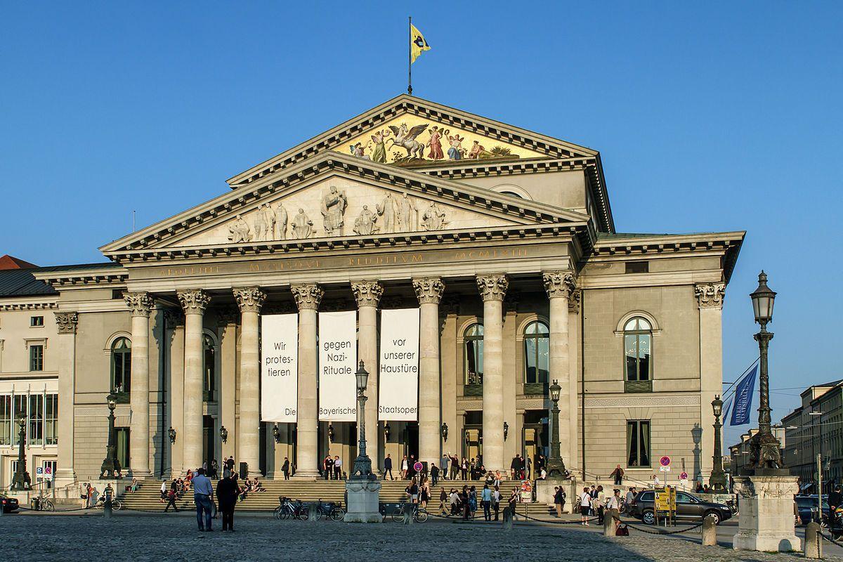 Teatro da Ópera de Munique (virada do século)