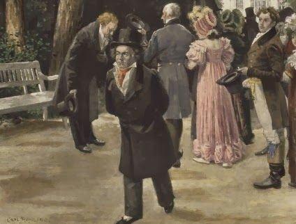 Beethoven dando um rolê