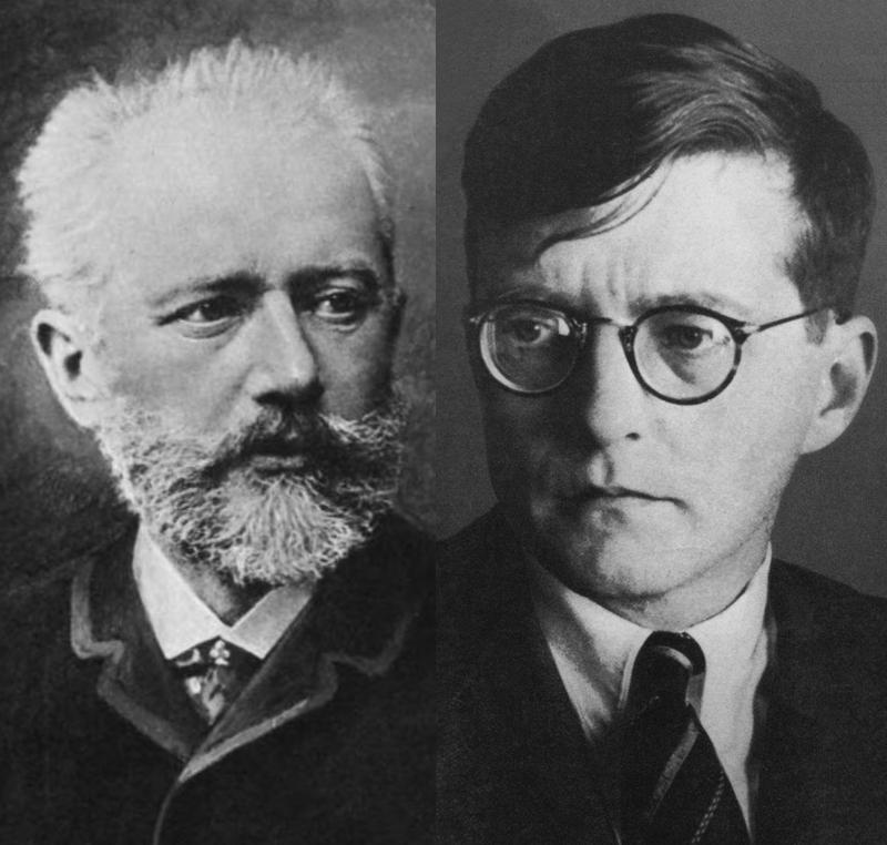 Tchaikovsky e Shostakovich