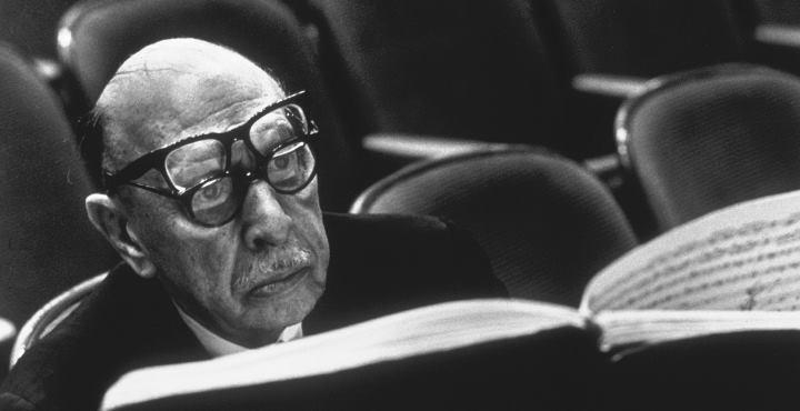 Stravinsky e Shostakovich. Puccini