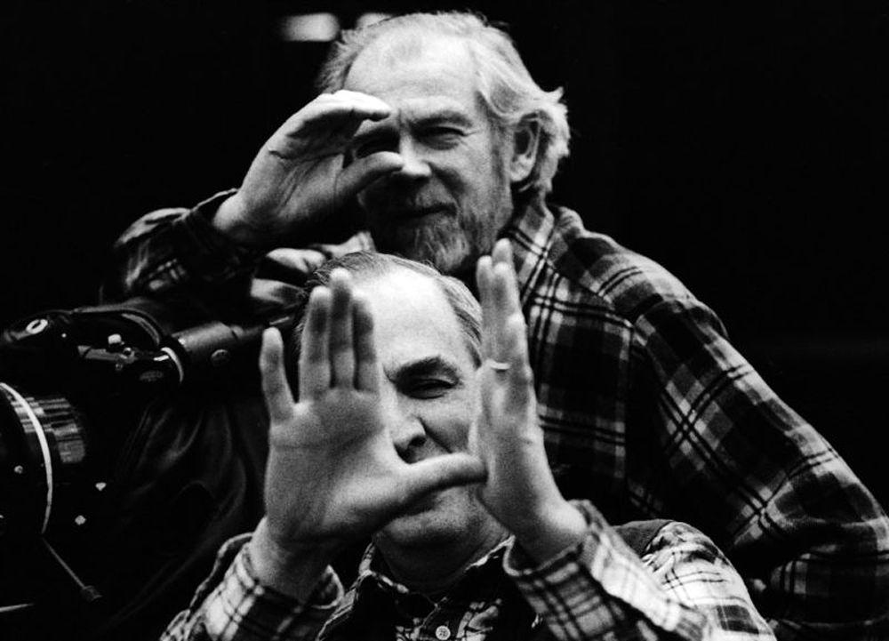 Ingmar Bergman e seu fotógrafo de sempre, Sven Nykvist