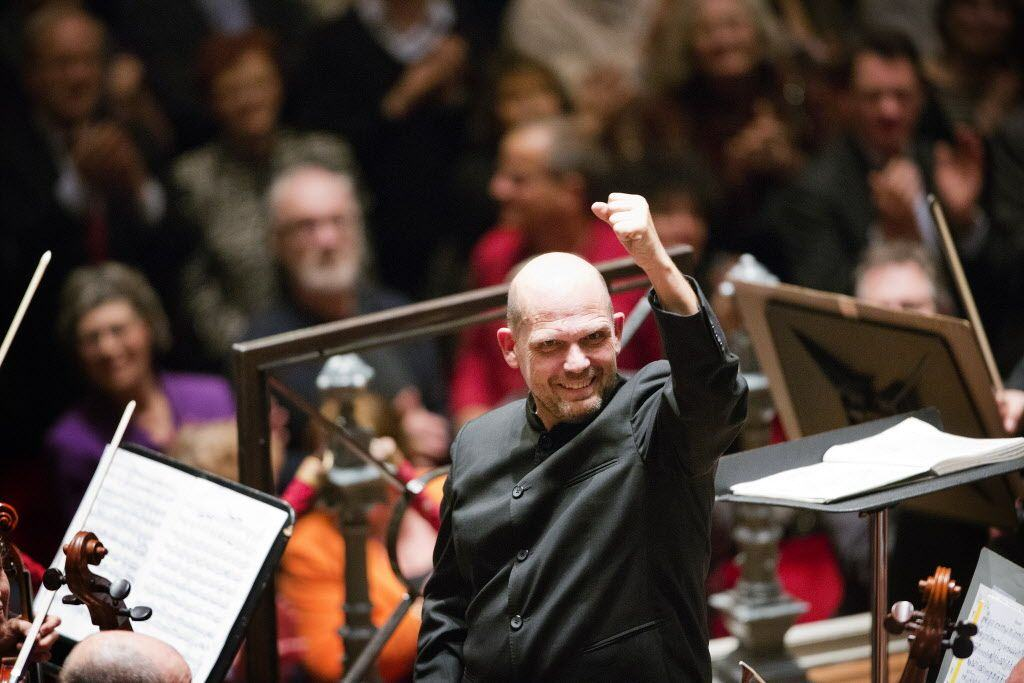 Jaap van Zweden and the Dallas Symphony Orcherstra in the Amste