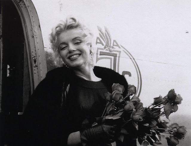 Porque hoje é sábado, fotos raras de Marilyn Monroe